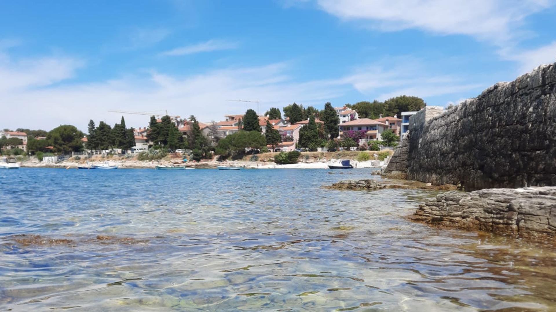 Kroatien Küste Foto